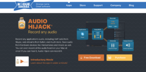 Web descarga audio hijack Rogue Amoeba